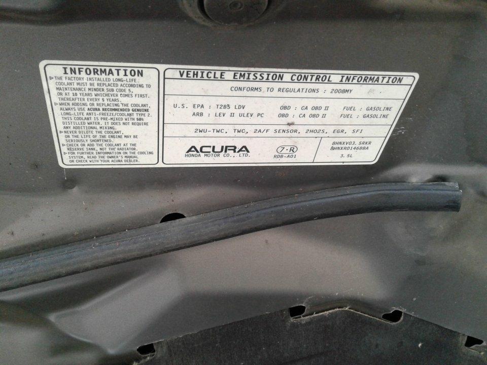Acura 72160-SEP-A11ZA Interior Door Handle